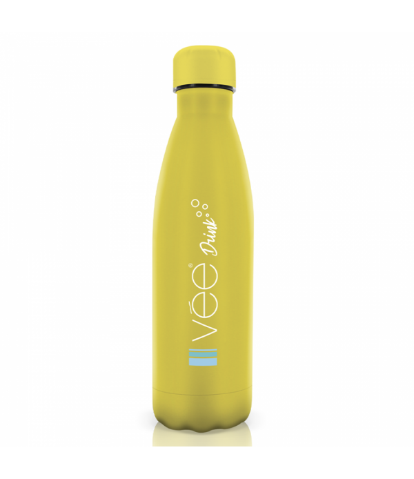 vee drink bouteille isotherme jaune