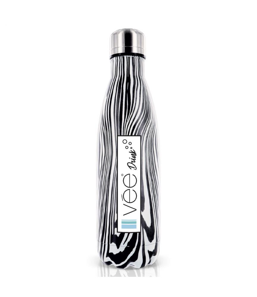 vee drink bouteille isotherme zebre