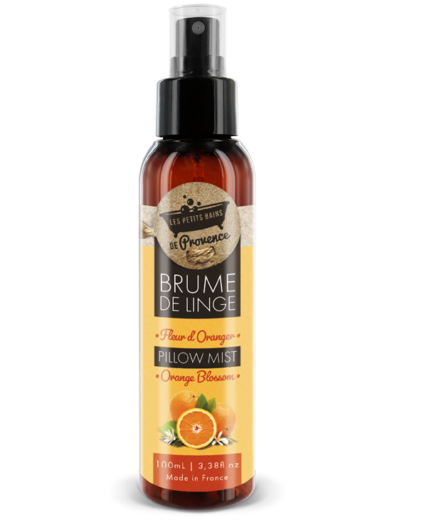 fleur d'oranger brume linge petits bains provence