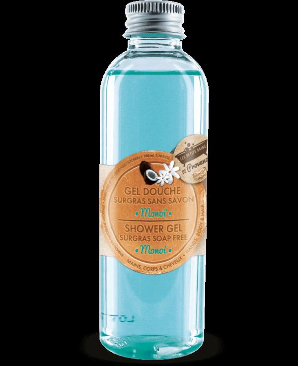 gel-douche monoi cadeau les petits bains de provence