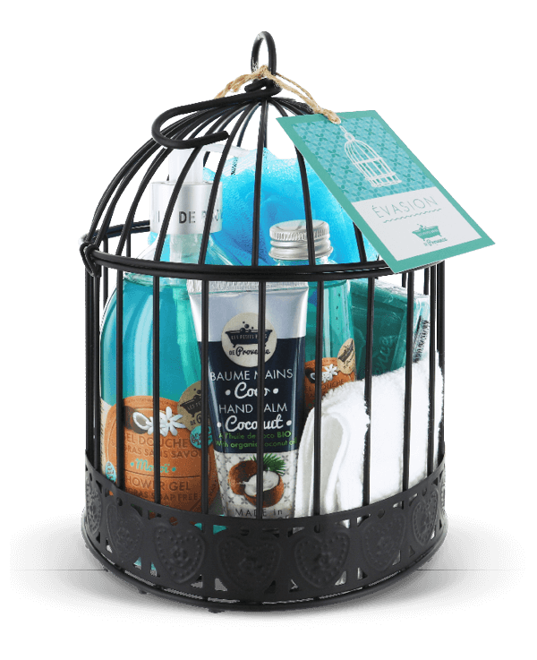 cage cadeau evasion