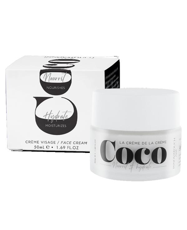 Crème visage coco innovatouch