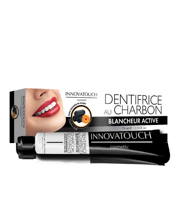 dentifrice charbon sans fluor innovatouch