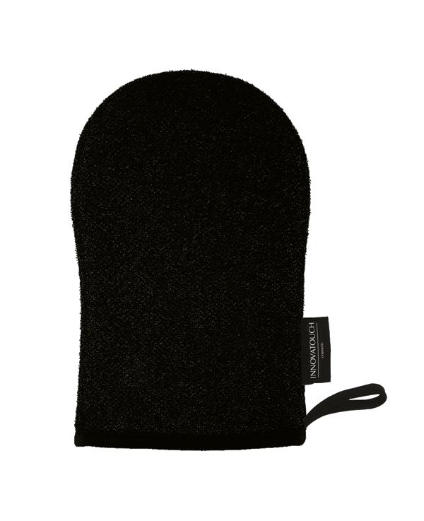 gant exfoliant charbon