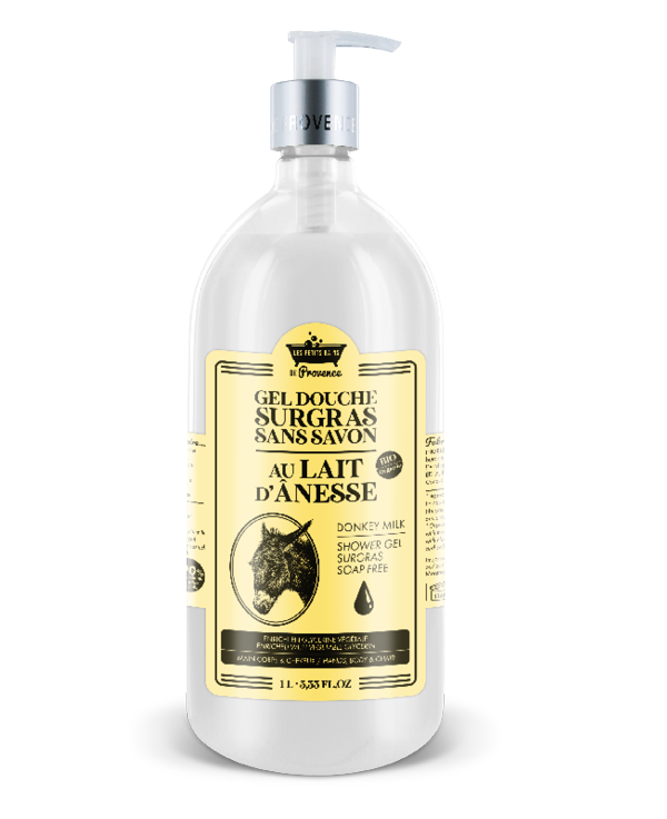 lait anesse gel douche surgras sans savon