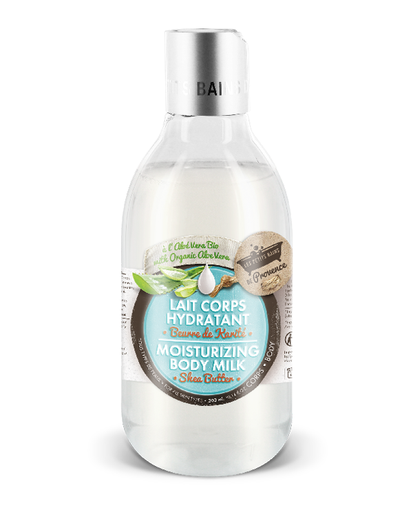 lait corps hydratant petits bains provence