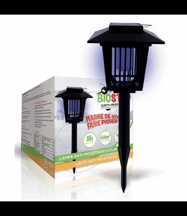 Lampe solaire anti-moustiques