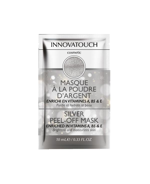 Masque sachet poudre argent innovatouch