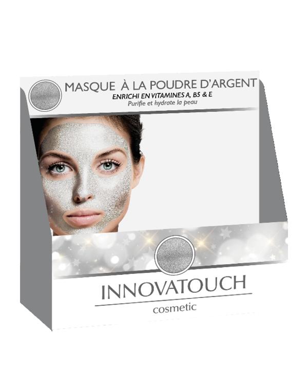 PLV masque Argent