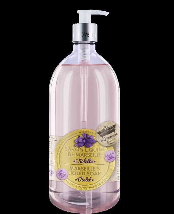 violette savon liquide marseille