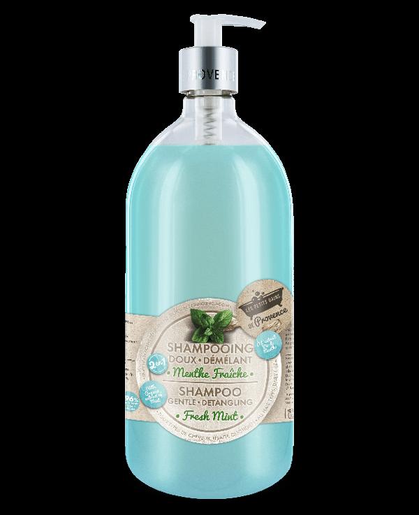 shampooing menthe verte petits bains de provence